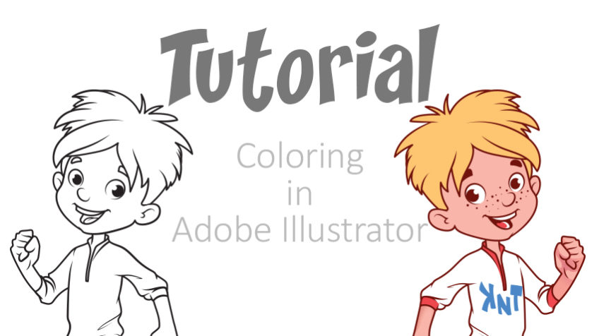 Coloring in Adobe Illustrator