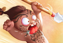 Little Maori warrior