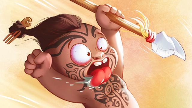 Little Maori warrior