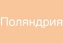 """Об издательстве """"Поляндрия"""""""