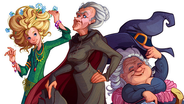 Witches on the Discworld