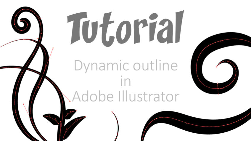dynamic outline in Adobe Illustrator