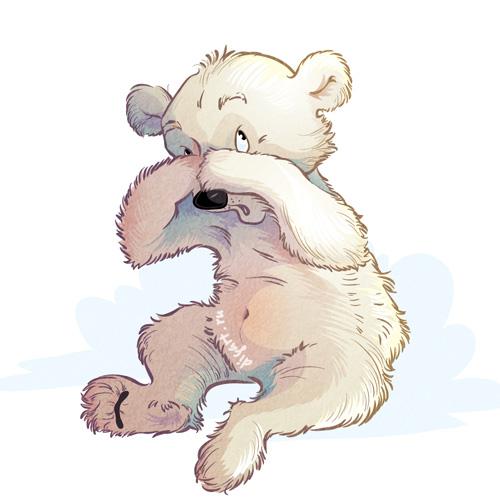 Картинки медвежонок плачет